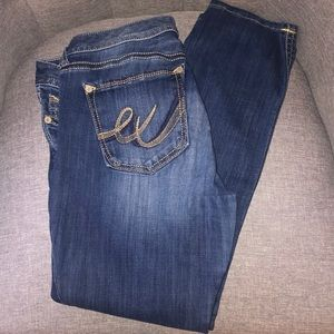 Express Stella skinny jeans